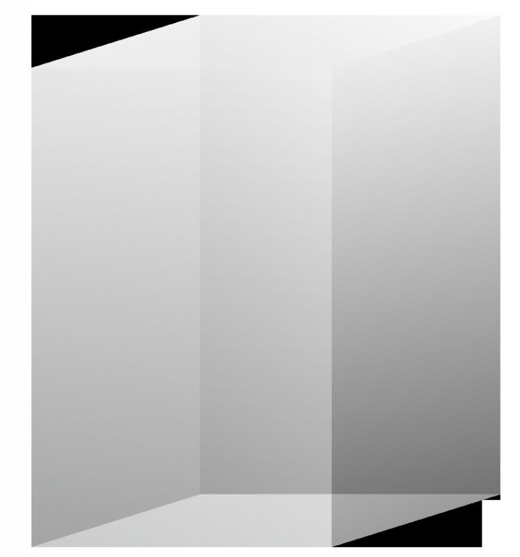 3D Kristall Rechteck R80